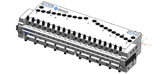 PVC RIGID BOARD T-DIE
